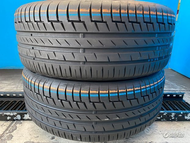 2 Gomme 225/50 R18 - 99W Continental 80% res.2020