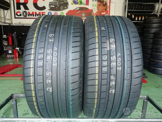 2 Gomme Usate 275 35 19 100Y Goodyear