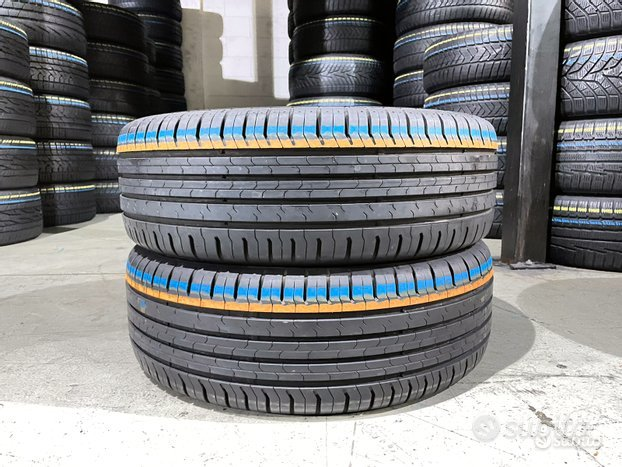 2 gomme 205 55 17 - 95V. Continental al 90%