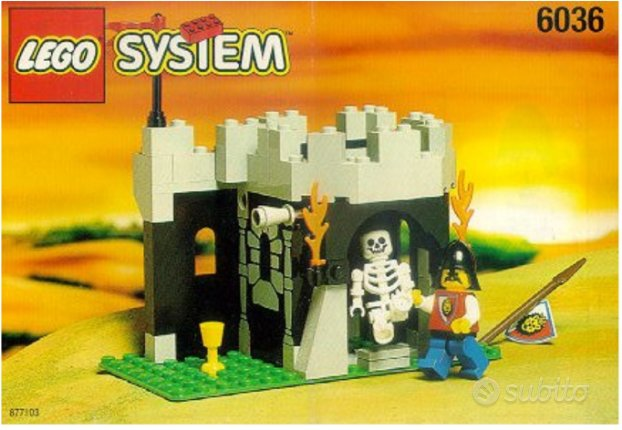 Lego Skeleton Surprise 6036 del 1995