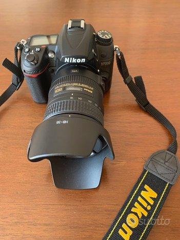 Nikon d 7000 - pari al nuovo