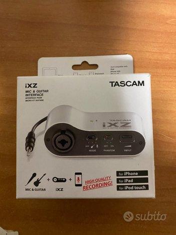 Tascam scheda audio portatile
