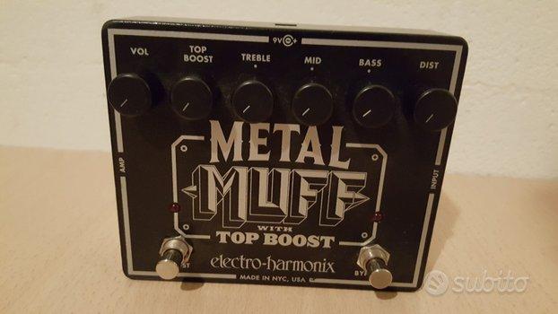Pedale Electro Harmonix Metal Muff Top Boost
