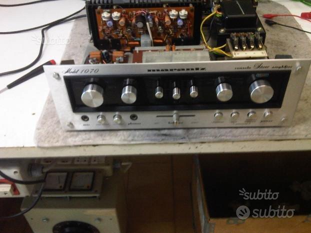 Riparazione Amplificatore Marantz 1070