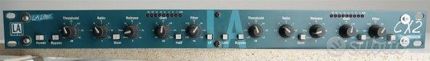 LA Audio Compressore stereo CX2