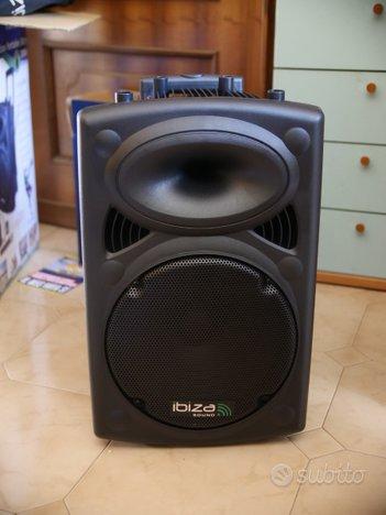 Cassa portatile Ibiza Sound Port12VHF-BT-WH