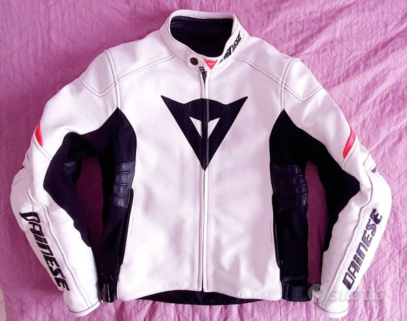 Giacca Pelle moto Dainese TG.50