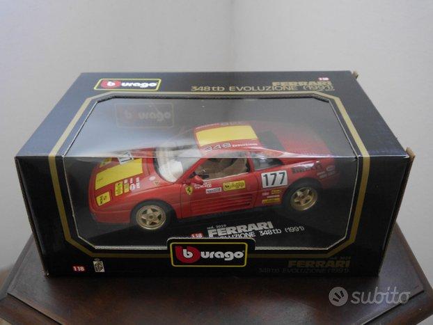 Modellino Burago Ferrari 348 tb Evoluzione 1991
