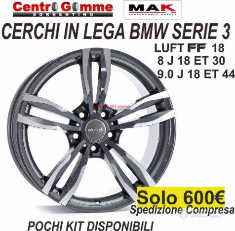 Cerchi in Lega Bmw Serie 3 18 Luft Doppia Misura