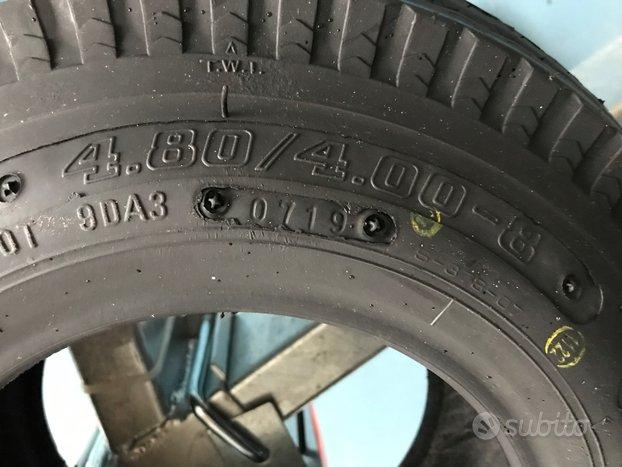 4.80 4.00 r 8 gomme pneumatici carrello