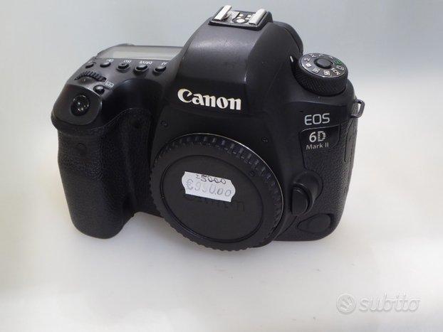 Canon 6d mk ii usata