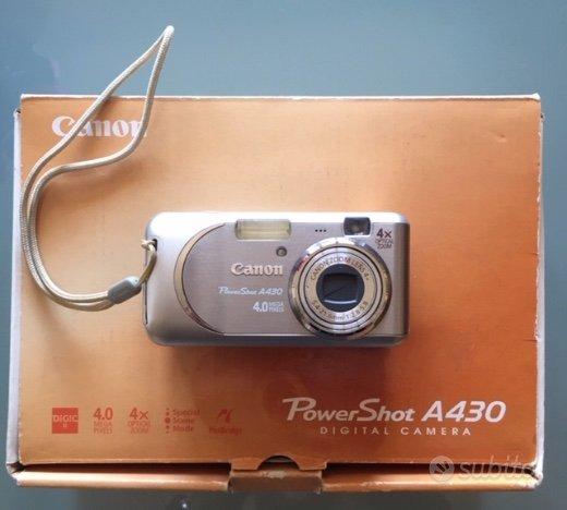 macchina fotografica canon a430