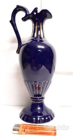 DERUTA '60 brocca versatoio ceramica lustro vintag