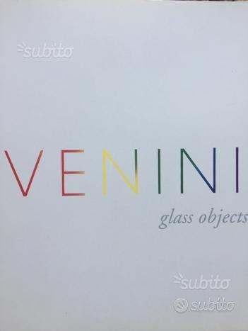 Cataloghi della produzione Venini e brochure