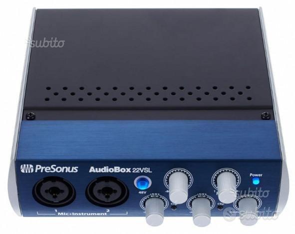 Interfacca Audio USB - AudioBox 22VSL chitarra