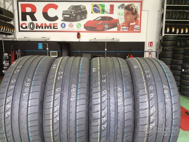 4 Gomme Semi Nuove 275 40 22 108Y Dunlop