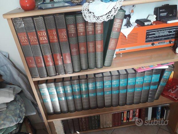 Libri e enciclopedia anni 70