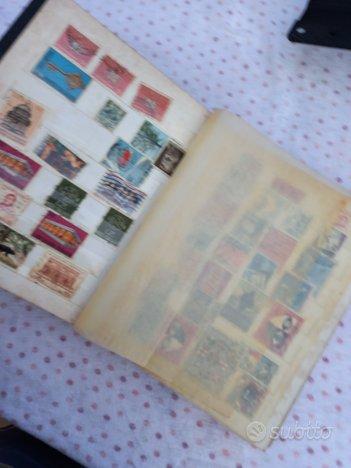Album con francobolli