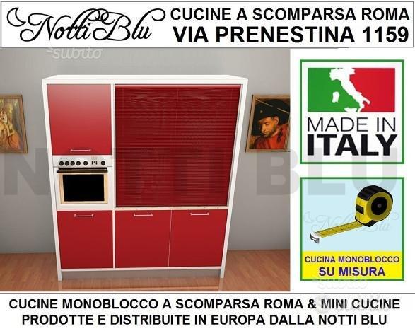 Cucina Monoblocco A Scomparsa Roma L 187 Cm Arredamento In Vendita A Roma Roma