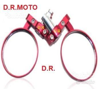 Specchietti bar end ROSSI custom moto universali