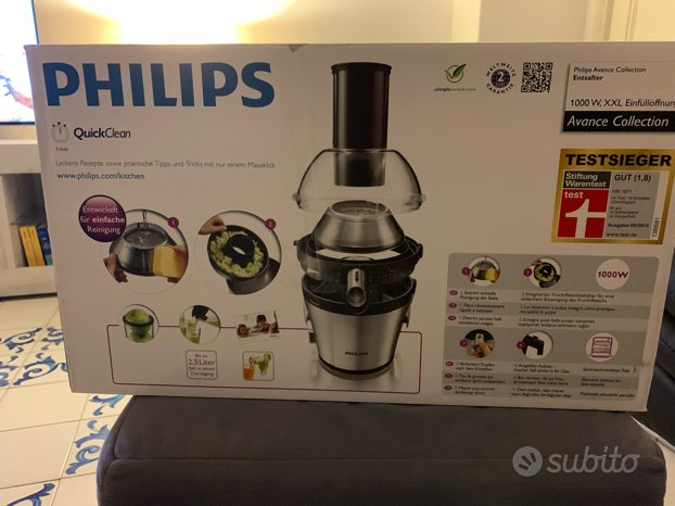 Centrifuga Philips 1000 Watt in alluminio