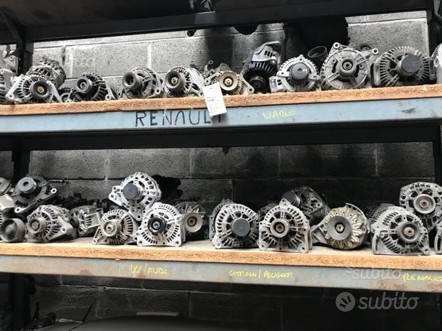 Alternatori e motorino avviamento vari modelli