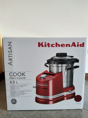Kitchen Aid Cook Processor 5KCF0104 4.5L Rosso