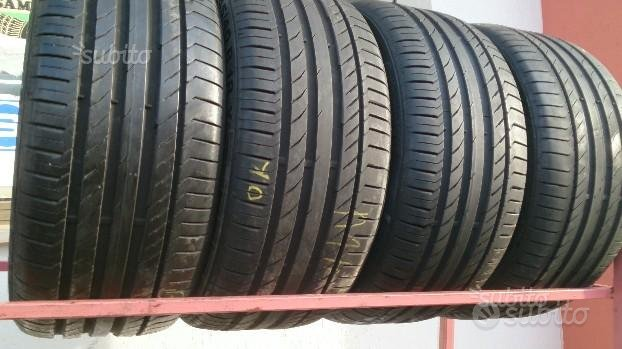 245/45/18. Continental contac 5 usate