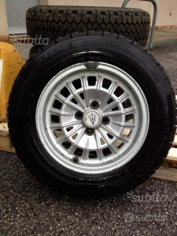 Cerchi Originali Maserati Biturbo