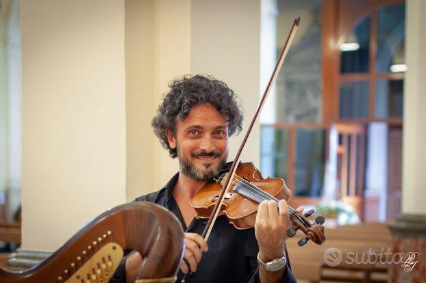 Violinista per matrimoni, cerimonie, eventi