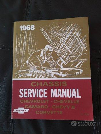 Manuale d'officina Chevrolet 1968