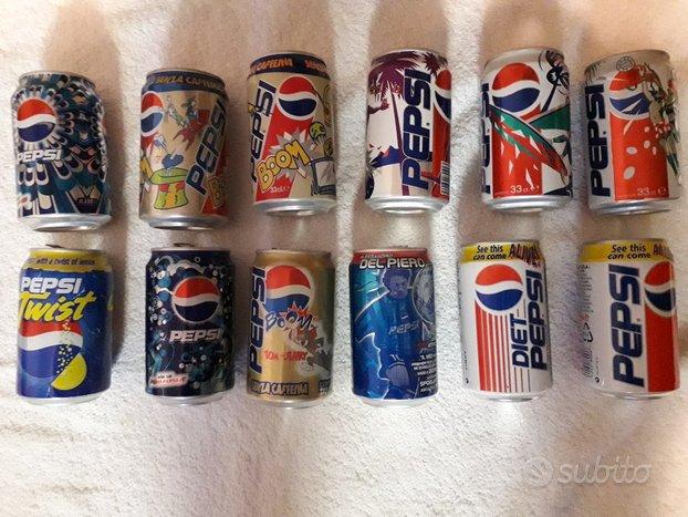 Lattine vintage Pepsi