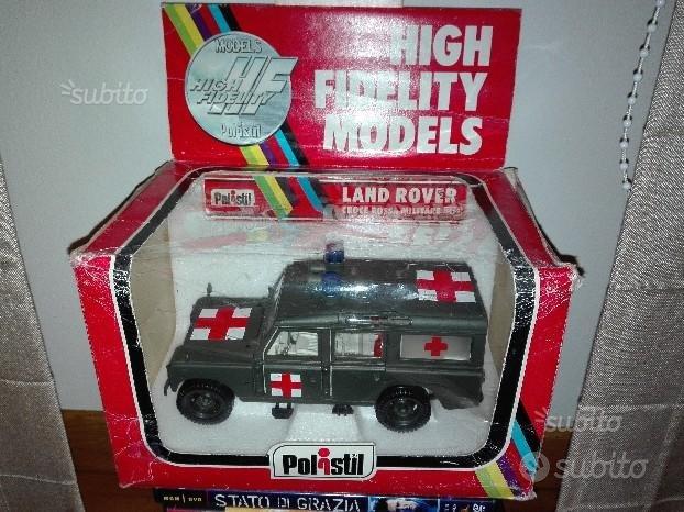 Modellino Polistil Land Rover Croce Rossa