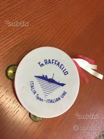 Tamburello con Sonagli - Transatlantico Raffaello