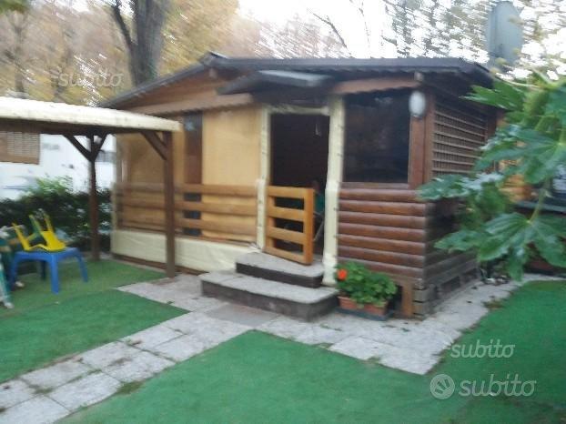 Bungalow in legno presso camping cesenatico