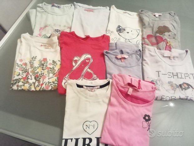 Abbigliamento estivo bambina 7-8 anni