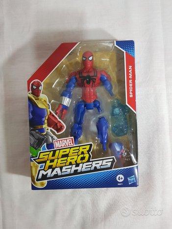 Spider man super hero mashers