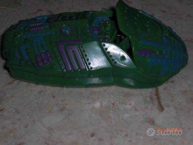 Exogini Fistful of Aliens navicella verde
