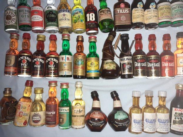 Amari e liquori mignon