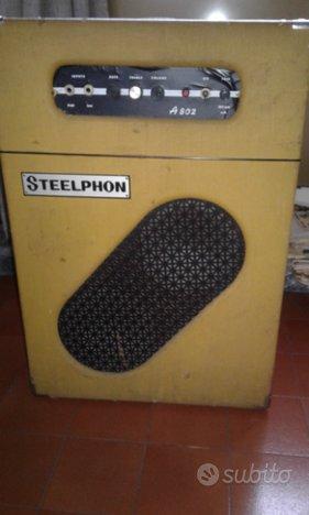 Amplificatore steelphon