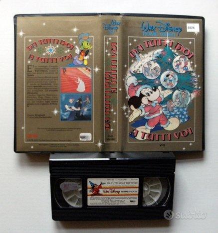 VHS - DA TUTTI NOI A TUTTI VOI - 1986 -W. Disney