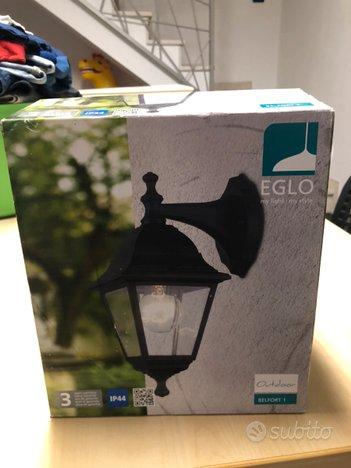 2 lampada esterno nuove