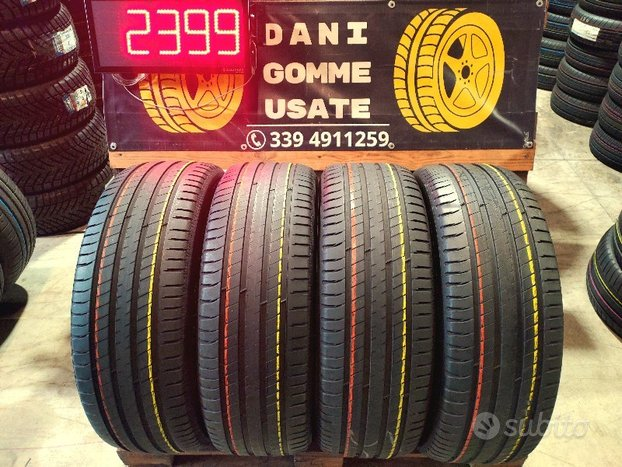 4 Gomme Usate 235 60 18 MICHELIN 80% SPED.GRATIS