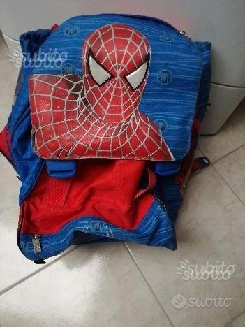 Zaino Spiderman a tre scomparti
