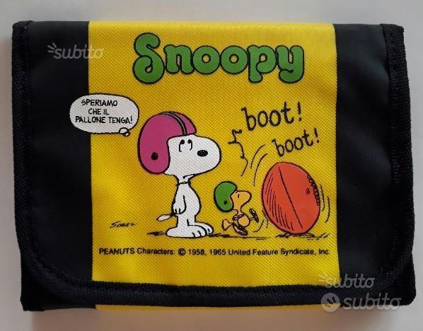 Snoopy portafoglio vintage (nuovo)