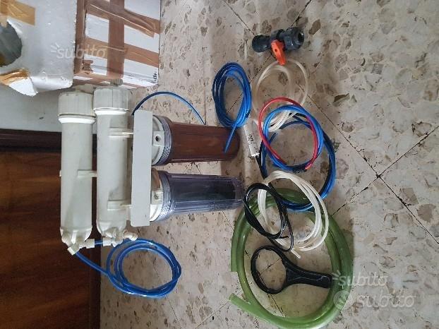 Impianto osmosi 2 membrane osmotiche