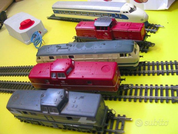 Trenino locomotori treno HO Lima locomotrice FS