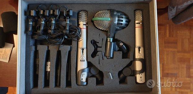 AKG Drum Kit Professionale Microfoni Batteria