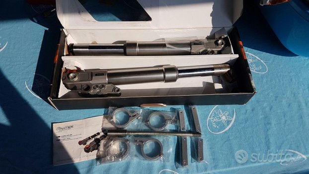 Forcelle e disco 280 mm Stage6 Aerox