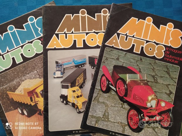 Rivista automodelli anni 80
